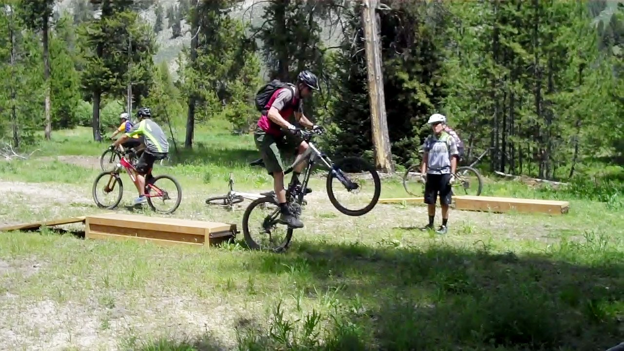Wheelie Drop Training